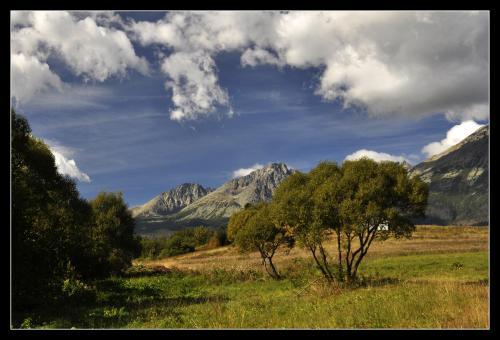 Widok na Tatry z Nowej Leśnej