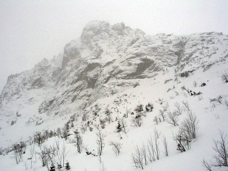 Widok z Doliny Roztoki
