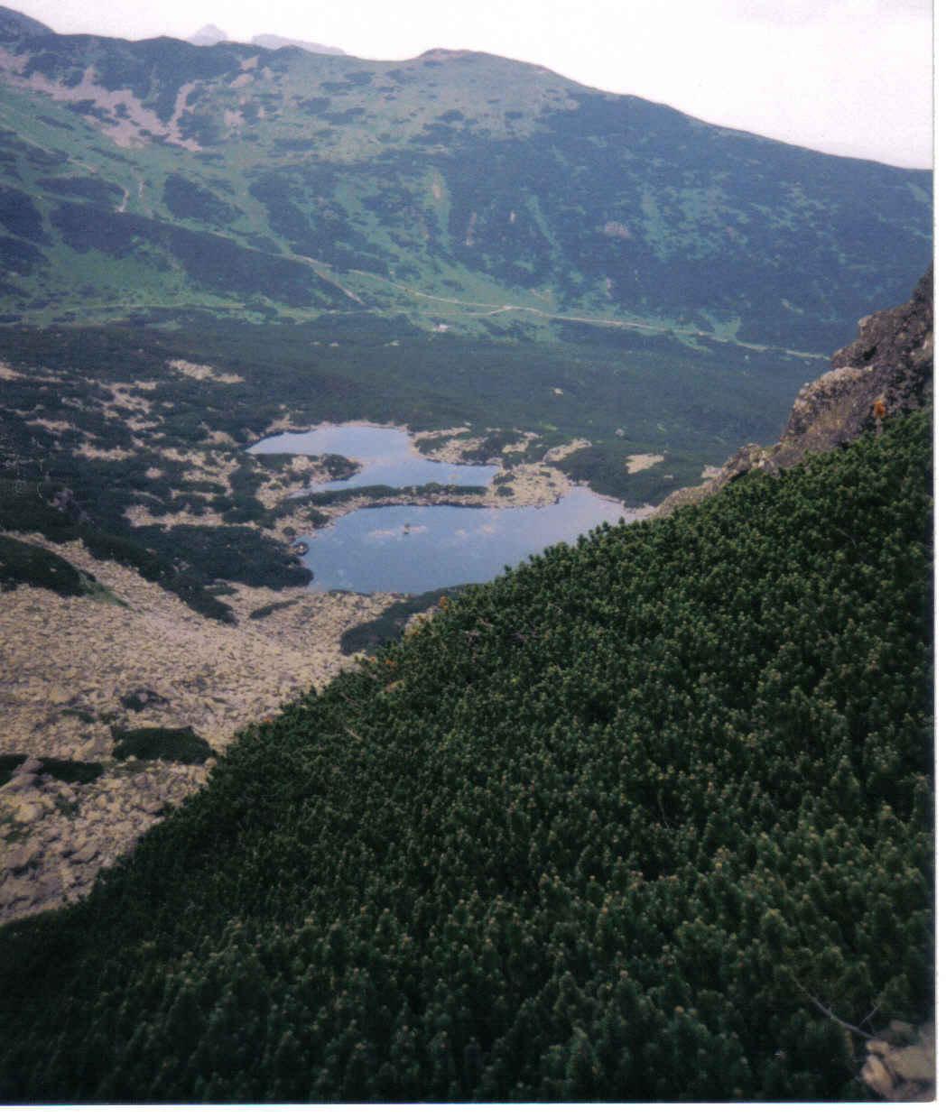 Widok z Przełęczy Karb