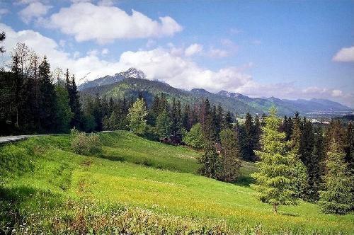 Widok z Toporowej Cyrhli