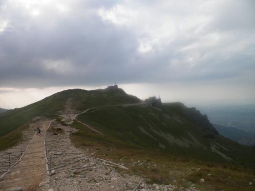 Widok ze szczytu Kasprowego Wierchu