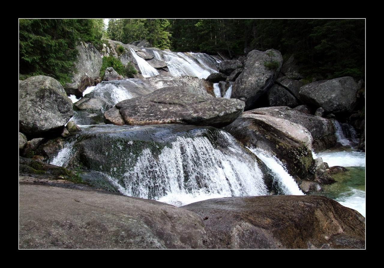 Wielki Wodospad w Dolinie Małej Zimnej Wody