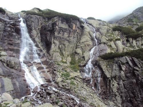Wodospad Skok w całej krasie