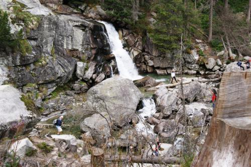 Wodospad Zimnej Wody Wielki