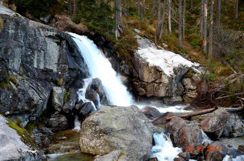 Wodospad  Zimnej  Wody