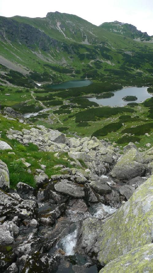 Z przełęczy Karb