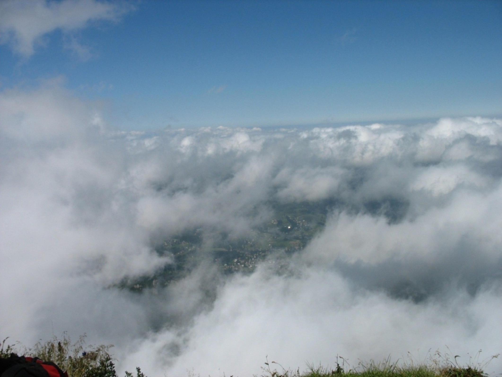Zakopane w chmurach