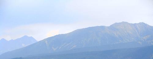 Zbliżenie na Koszystą (2193m.n.p.m.)z Gubałówki